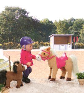 Baby born paard