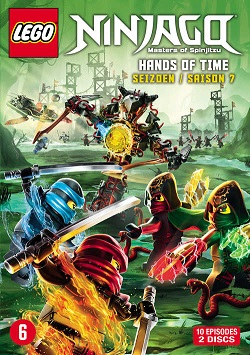Lego Ninjaco hands of time