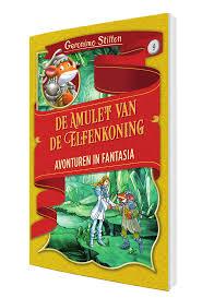 Geronimo Stilton - de amulet van de elfenkoning - lezen - kinderboeken